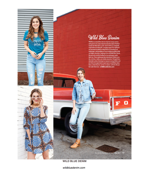 Microsoft Word - HOUSTONLIFESTYLES.COM - WILD BLUE DENIM.doc